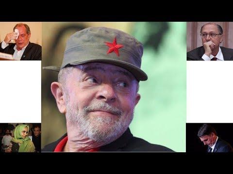 Outra vez os golpistas têm que engolir Lula na liderança das pesquisas!