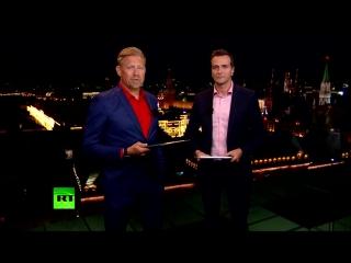 Победа испанцев и третья игра сборной России: обзор Петера Шмейхеля в эфире RT