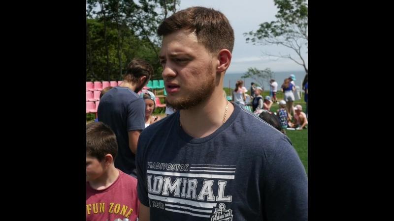 Илья Зиновьев о встрече с юными болельщиками
