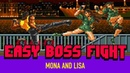 Easy Boss Fight Streets of Rage Mona and Lisa