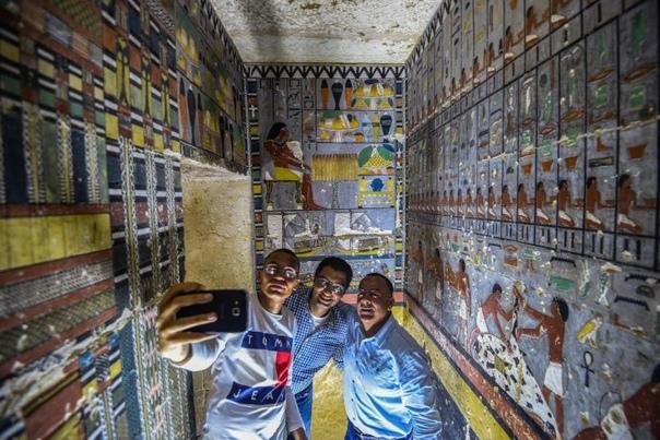 В Египте нашли новую гробницу возрастом 4000 лет