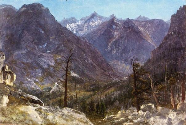 Горы и водопады Альберта Бирштадта