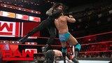 Roman Reigns &amp Seth Rollins vs. Jinder Mahal &amp Elias Raw, June 4, 2018