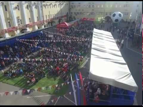Ярославцы матч Россия - Египет смогут посмотреть на фан-зоне в Вознесенских казармах
