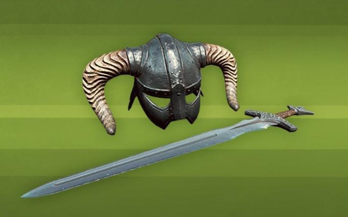 В клубе творчества Fallout4 бесплатно можно забрать меч шлем в честь 25 TES