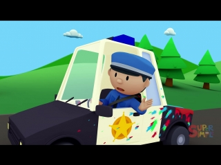 Police Officer Oona chases a paint thief and gets a BIG SURPRISE!   Episode 8