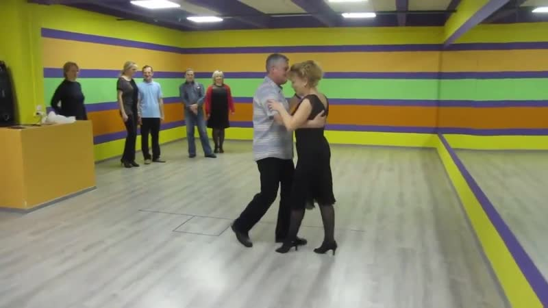 Занятия в танцшколе Dance Life танго аргентино 09.12.18 Клипчик