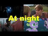 Английские фразы At night (примеры из фильмов, сериалов и песен)