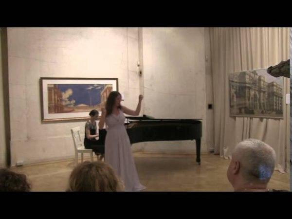 Концерт в Музее архитектуры 05 07 2015 part 3 Софья Ефимова (меццо-сопрано)