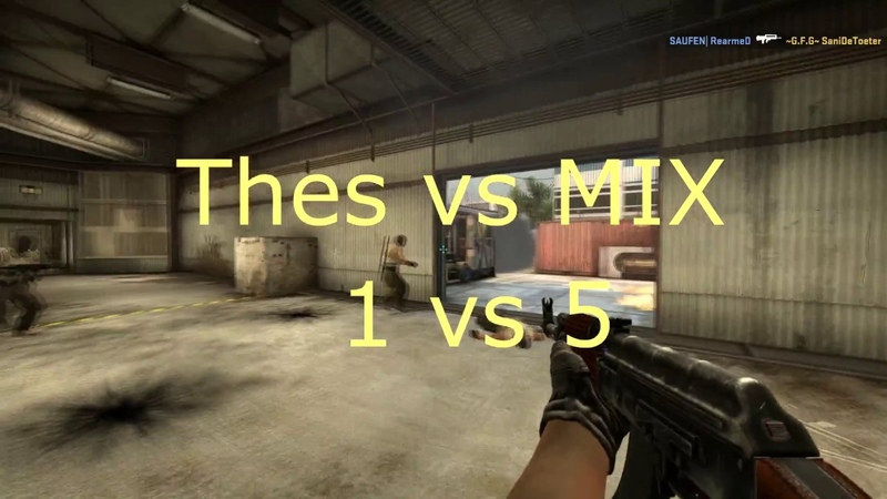 Highlight CS:GO on cache(Thes vs MIX)