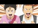 Nishinoya and Tanaka Best moments Haikyuu!!