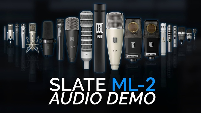 18 Microphones for $150 Slate Digital ML2 Review and Sound Test