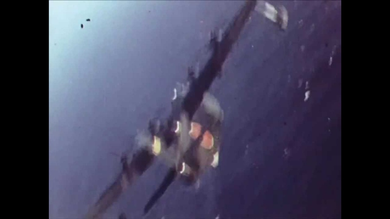 US Navy shoots down an Emily 1943