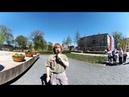 Панорамное видео 360°. 9 мая 2018 г. Псков. Песня Десятый наш десантный батальон . Живое исполнение.