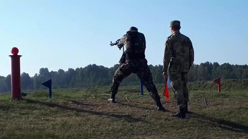 В Смоленской области бойцов Росгвардии испытали на выносливость и силу