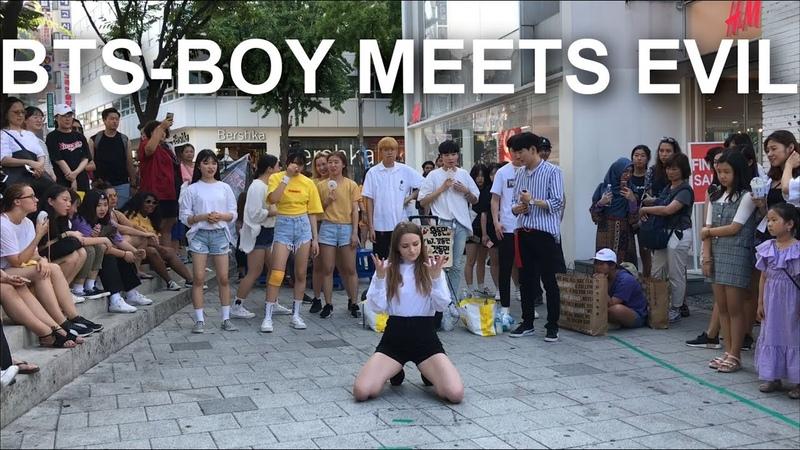 방탄 춤 역대급 소름돋았다. BTS(방탄소년단) - Boy Meets Evil (dance cover by J.Yana)