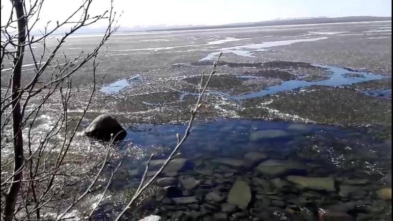 Ках озеро лед тронулся