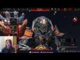 Похитительница похитителя ароматов делает обзор на Strogg and Peeker для Quake Champions