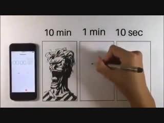 Скоростные рисунки