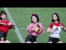 · Fancam · 180617 · OH MY GIRL BANHANA - Banana Allergy Monkey (Hyojung focus) · 2018 Gangneung Danoje Festival ·