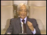 J. Krishnamurti - New York 1985 - United Nations Talk - Why can't man live peacefully on the earth