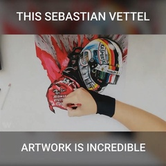 """WTF1 on Instagram: """"This is so impressive! 👏🏻 Submitted by: @_kd_drawings_ #f1 #formula1 #sebastianvettel #scuderiaferrari #artwork #wtf1"""""""
