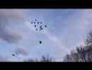 Запуск шаров в честь Артёмки