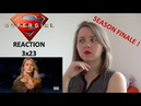 SUPERGIRL 3X23 BATTLES LOST AND WON FINALE REACTION