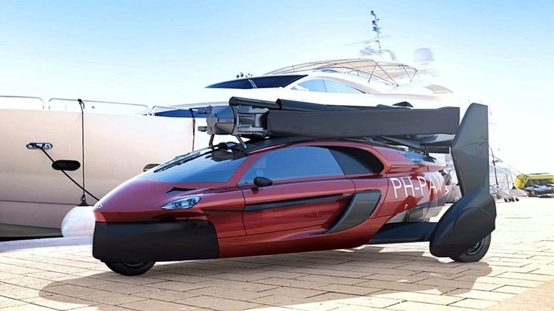 💥PAL-V Flying Car - the Future is now:FIRST production flying car