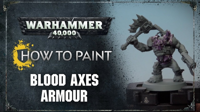 How to Paint Blood Axes Armour