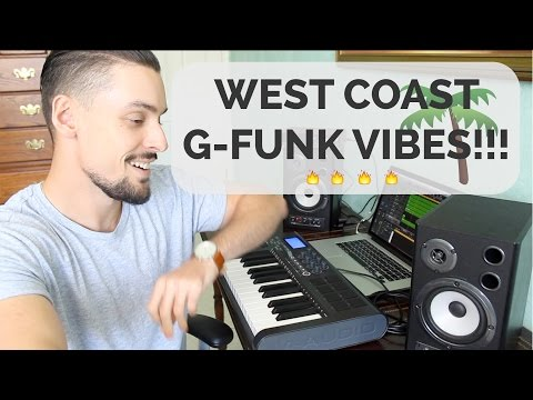 ITS A CLASSIC!! Making a West CoastG-Funk track in Logic Pro X.