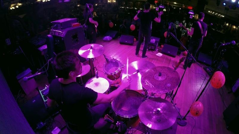 Gusttavo Lima Balada Boa cover Alex Ablaev on Drums Drum Cam