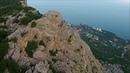Гора Челеби - Бурун рядом с Форосом и Байдарскими воротами в Крыму 23 июля 2018 года