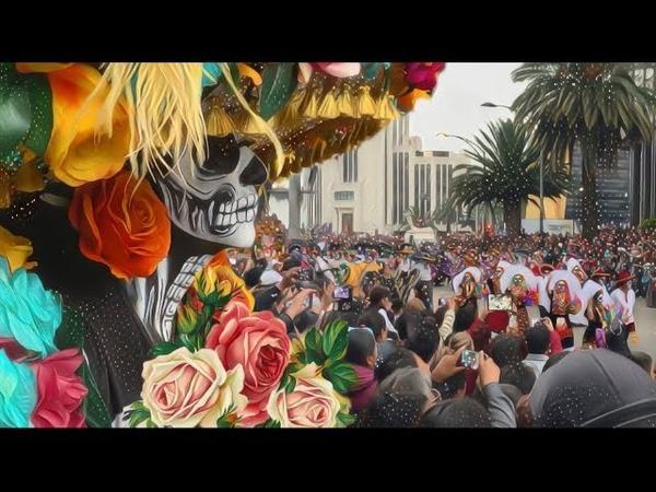 Así se vivió el Desfile del Día de Muertos 2018 en la CDMX