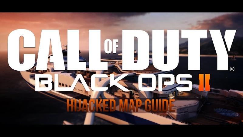Black Ops 2 - Map Guide 1 - HIJACKED :: геймплэй, стратегия, советы