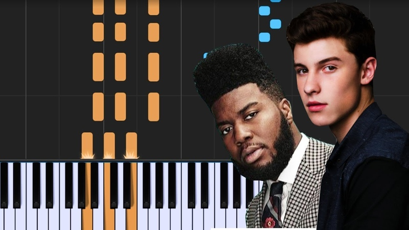 Shawn Mendes - Youth ft Khalid Piano Tutorial - Chords - How To Play - Cover