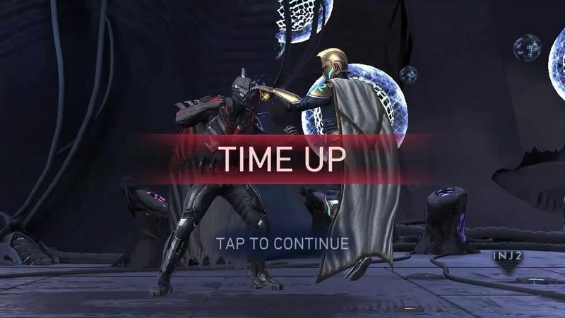 Injustice 2 Mobile League Raid 6 Predator Batman Vs Sub Boss Doctor Fate