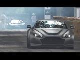 2018 Aston Martin V600 Vantage Exterior and Interior Overview and Hill Climb! FoS 2018.