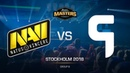 Na`Vi vs. Ghost - DH MASTERS Stockholm - de_dust2 [CrystalMay, SSW]