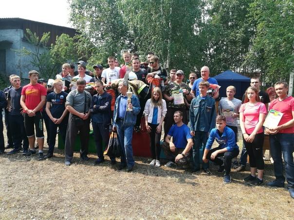 В Усть-Илимске прошли юбилейные соревнования среди добровольцев-пожарников