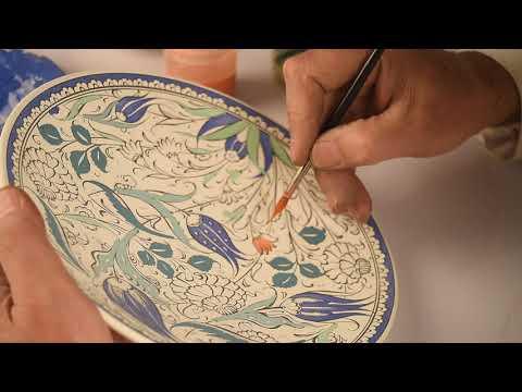 Çini Boyama- Painting of Çini