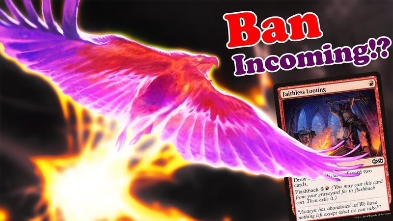 MTG Modern Phoenix Deck WITHOUT Faithless Looting! - Ban @ Next Banned Restricted Announcement!