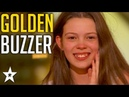 13 Y.O Singer gets Howies GOLDEN BUZZER on Americas Got Talent 2018 Got Talent Global