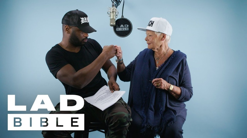 Lethal Bizzle Teaches Dame Judi Dench How To Rap