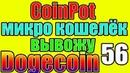 CoinPot вывод на payeer и продажа Dogecoin