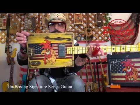 Unboxing Rooster II Signature Series Guitar Christopher AmeruosoPaoletti Guitars