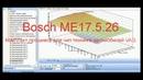 Комплект прошивок для чип тюнинга автомобилей VAG Bosch ME17 5 26