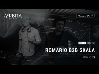 ROMARIO B2B SKALA [ tech house ] @ Pioneer DJ TV | Moscow