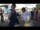 Мастер класс от спортсменов отделения Киокусинкай карате МУ Спортивная школа ВМР