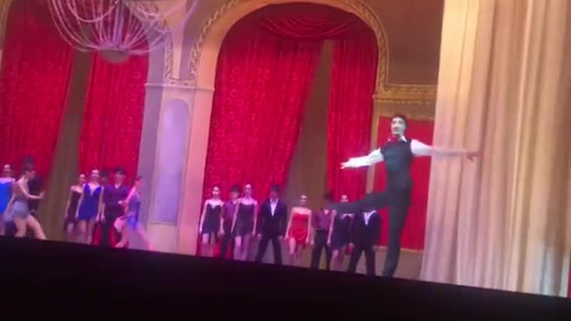 Мужское Бакинское фуэте в балете Танго Любви под всем до боли знакомое Танго